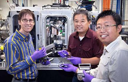 更快速的材料发现的更智能的实验