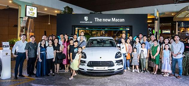 首次向新加坡20个客户交付保时捷Macan