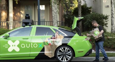 加利福尼亚州的初创公司AutoX即将开始测试自动杂货配送
