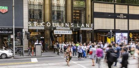 圣柯林斯巷购物中心出售要价巨大