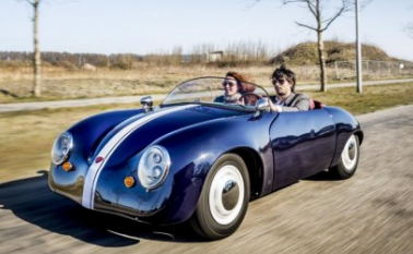来自荷兰的Carice Mk1是外观类似的电动保时捷356