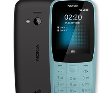 诺基亚220 4G正式上市 支持三大运营商4G网络和VoLTE高清通话