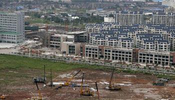 广州为增城区中新镇霞迳村旧村全面改造项目选择合作企业