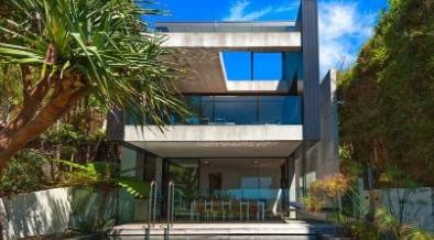 亚历克斯波波夫设计的价值1200万美元的银色海滨别墅