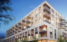 蒙特利尔公寓是世界上最大的住宅交叉层压木材项目