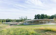 萨那设计的文化中心在康涅狄格州的Grace农场开业