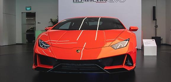 兰博基尼Huracan EVO在新加坡发布