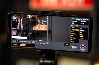 在Cinematic 4K上动手使用Cinema Pro应用程序