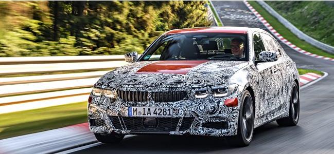 全新BMW 3系在纽伯格林完成最终测试