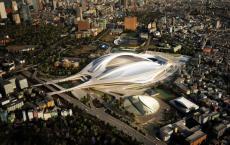 日本废除扎哈哈迪德的东京奥林匹克体育场项目