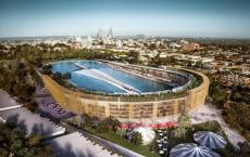 MJA工作室建议将澳大利亚体育场改造成巨型冲浪池