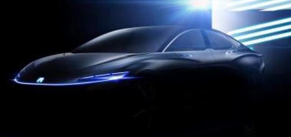 荣威R标首款旗舰概念车荣威R Aura Concept再次曝光了一