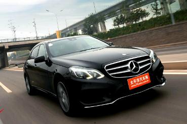 评测2014款奔驰E260L怎么样:1.8升涡轮增压发动机