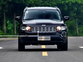 评测Jeep指南者怎么样:轮毂的造型杀气十足