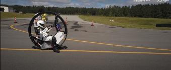 EV360电动单轮车正在寻求创下吉尼斯陆上速度的纪录