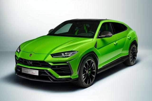 2021兰博基尼乌鲁斯汽车增加了鲜艳的新色彩与更多的功能