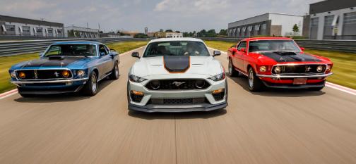福特一直以惊人的速度向野马阵容添加模型