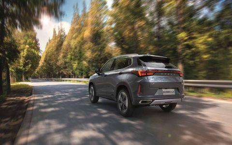 星途品牌推出的第二款车型星途LX算是SUV中的佼佼者