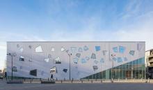 OMA为英国布莱顿学院设计了梯形体育中心