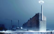 BIG众筹为Amager Bakke电厂项目提供蒸汽环原型