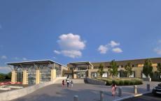 德克萨斯州麦金尼潜入巨大的泳池和健身中心项目