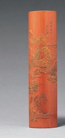 国内外拍场上的精品天价竹雕:竹上风流