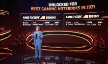 AMD称其新的Ryzen 5000移动CPU为游戏 内容创作方面的最佳英特尔